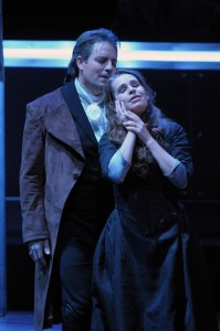 Matthew Polenzani and Sophie Koch in Lyric Opera's Werther photo: Dan Rest