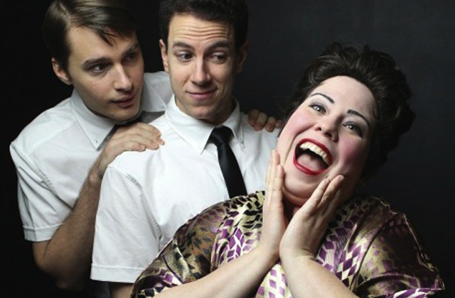 (l-r) Sam Button-Harrison, Dan Gold, Libby Lane/Photo: Pride Films & Plays