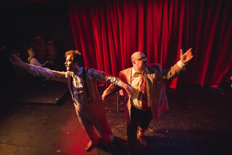 Dan Kerr-Hobert and Phil Ridarelli/Photo: Joe Mazza of Brave Lux