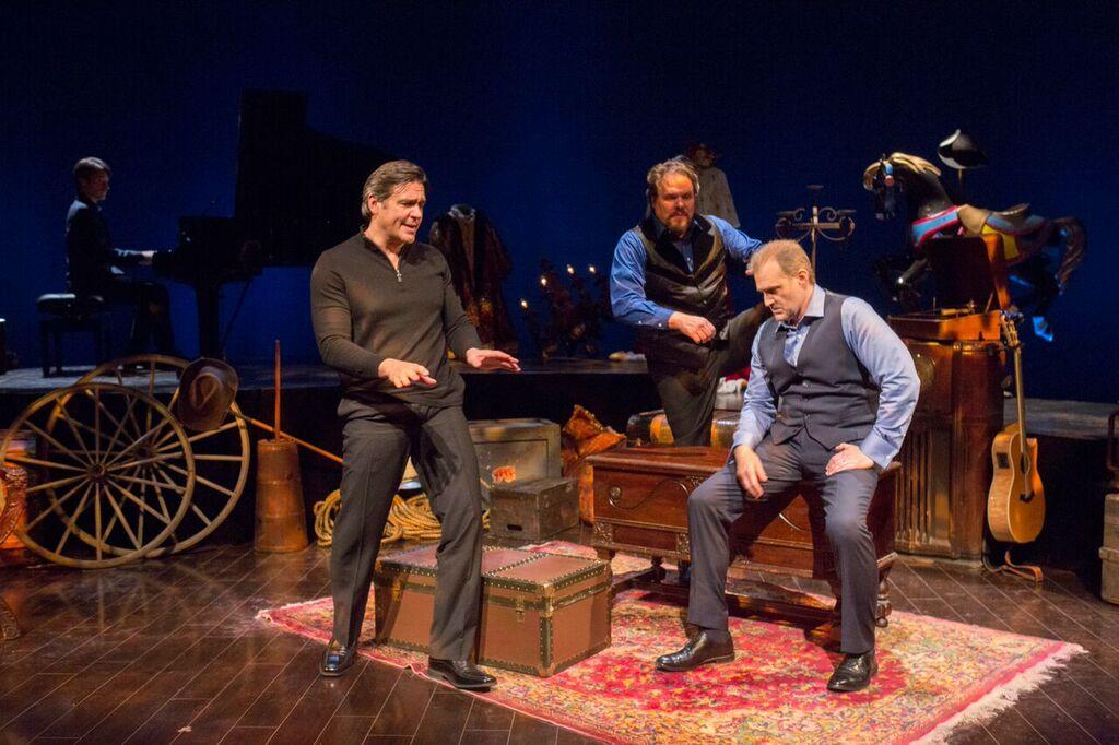 Nathan Gunn, Mark Delavan and Marc Kudisch/Photo: Chuck Osgood