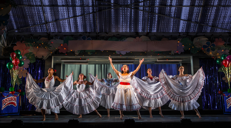 Danaya Esperanza, Carmen Zilles, Zoë Sophia Garcia, Socorro Santiago, Stephanie Andrea Barron and Helen Cespedes/Photo: Liz Lauren