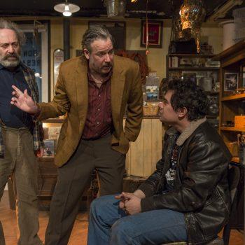 Richard Cotovsky, Stephen Walker and Rudy Galvan/Photo: Michael Brosilow