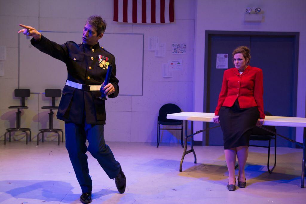 Daniel Smith and Mary Williamson/Photo: Tom McGrath.