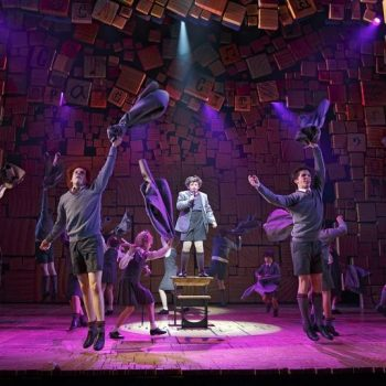 "The cast of ""Matilda""/Photo: Joan Marcus"