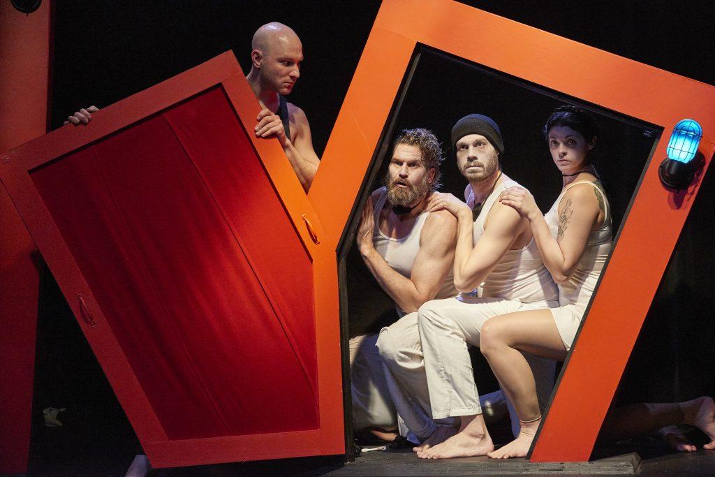 Pavi Proczko, Michael Garvey, Benjamin Ponce and Ann Sonneville/Photo: Bogdan Nastase