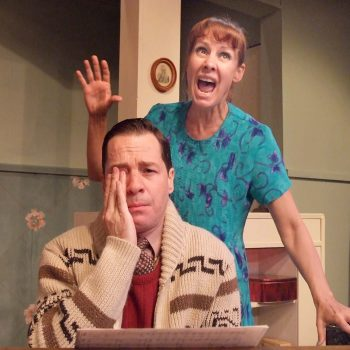 French Stewart and Laurie Metcalf/Photo: Ed Krieger