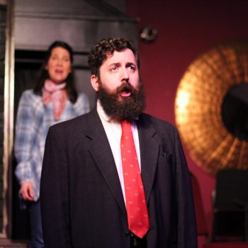 """Jonathan Crabtree in """"1776"""" at E.D.G.E. Theatre/Photo: Angela Davis Couling"""