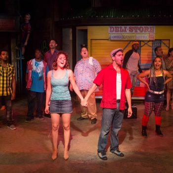 "The cast of ""In the Heights""/Photo: Gretchen Kelley"