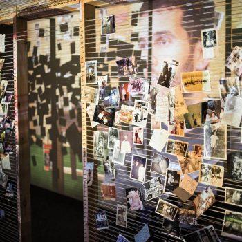 "An installation at Pivot Arts' ""The Memory Tour""/Photo: Austin D. Oie."