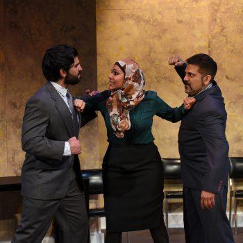 Andrew Saenz, Alka Nayyar and Kamal Hans/Photo: Scott Dray