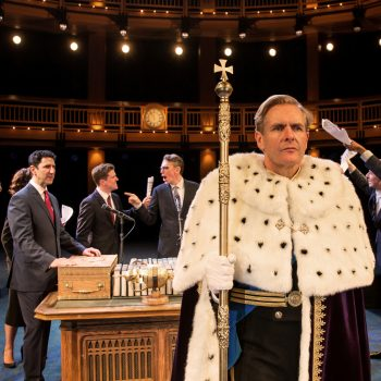 "Robert Bathurst in Chicago Shakespeare Theater's ""King Charles III""/Photo: Liz Lauren"