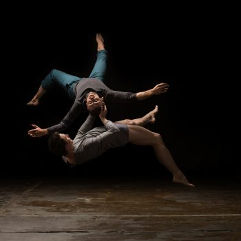 Hubbard Street dancers Jesse Bechard and Jason Hortin. Photo: Quinn B. Wharton