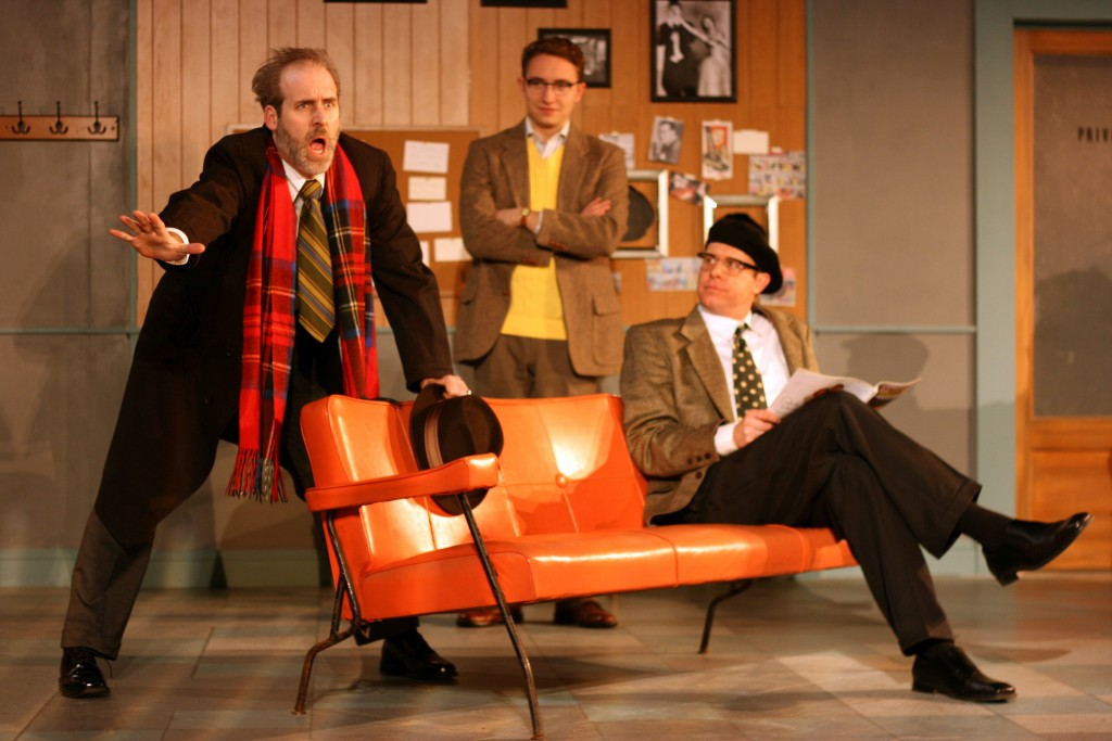 Review Laughter The Floor First Folio Theatre Newcity Stage