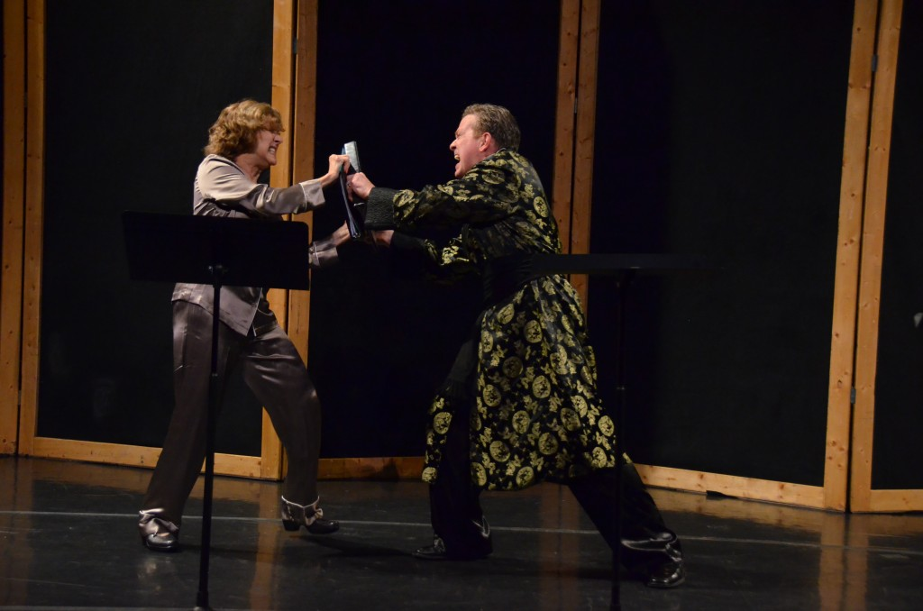 Mary Michell and Michael Lasswell/Photo: Janine Pixley