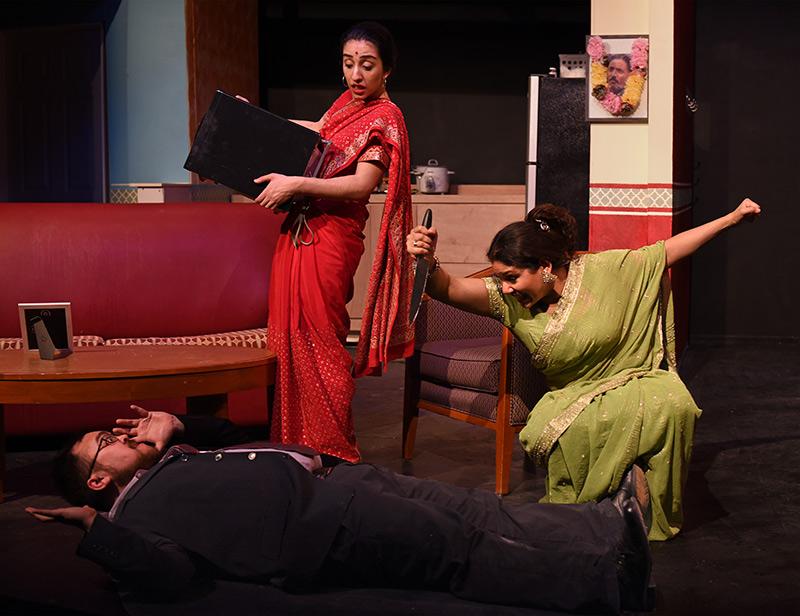 Alka Nayyar, Vahishta Vafadari and Arif Yampolsky/Photo: Scott Dray
