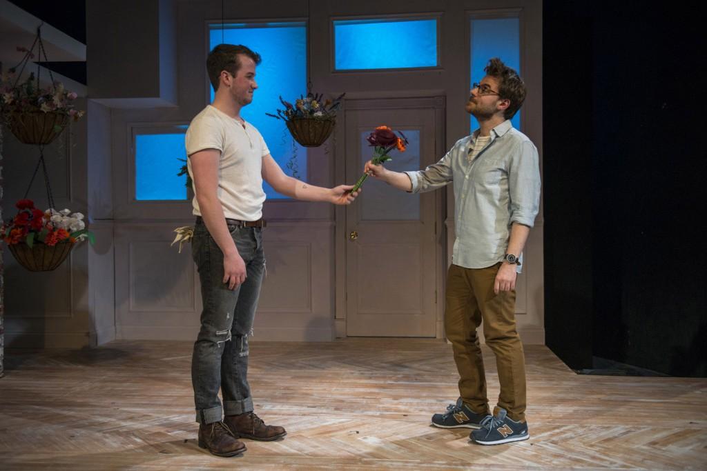 Collin Quinn Rice and Stephen Cone/Photo: Michael Brosilow