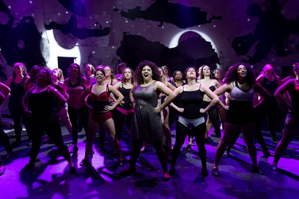 """The cast of """"Spanx You Very Much""""/Photo: Joel Maisonet"""