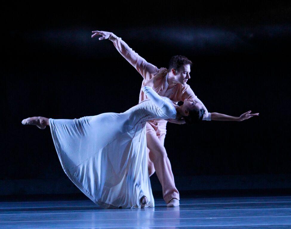 "Christine Rocas and Rory Hohenstein in ""Forgotten Land."" Photo: Herbert Migdoll"