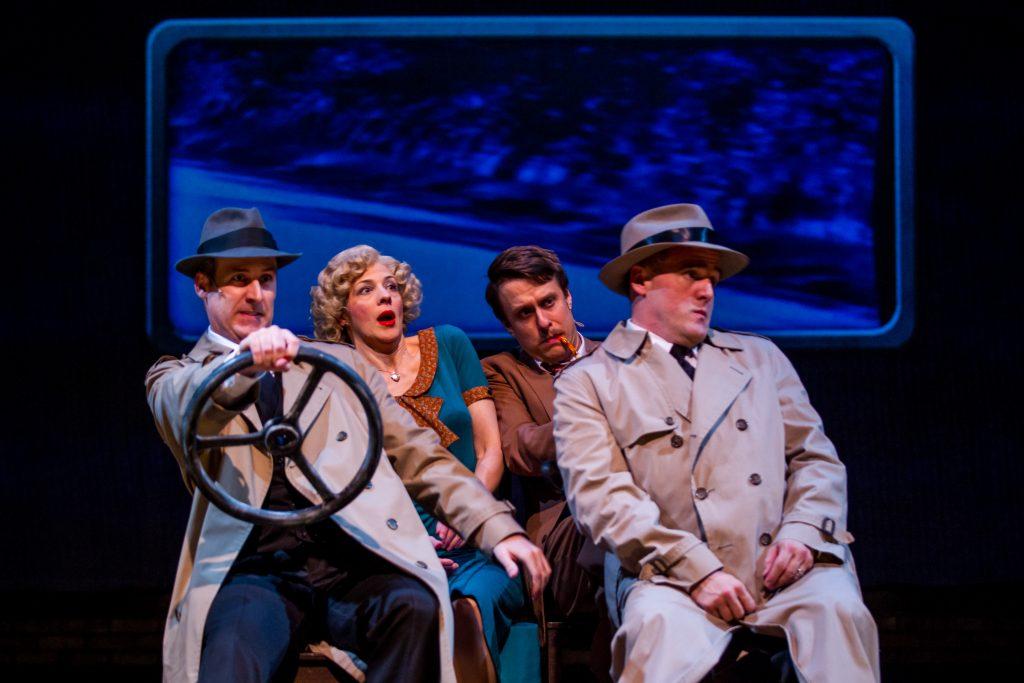 Kevin McKillip, Linda Gillum, Matt Mueller and Norm Boucher/Photo: Guy Rhodes