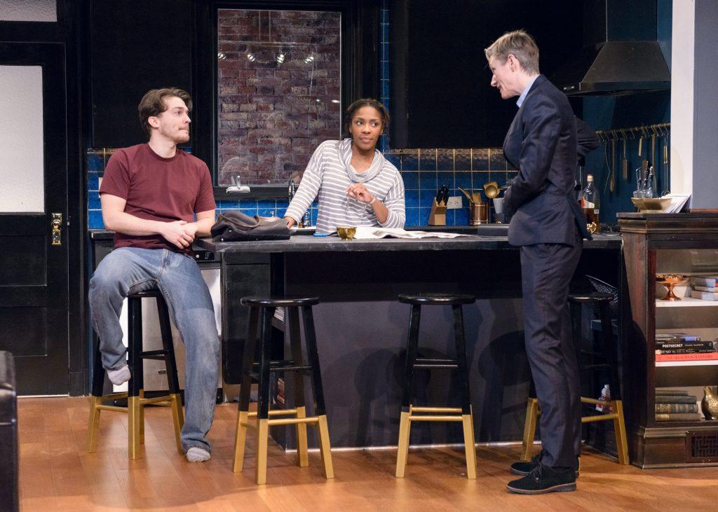 Mike Tepeli, Patrese D. McClain, Kelli Simpkins/Photo: Michael Courier