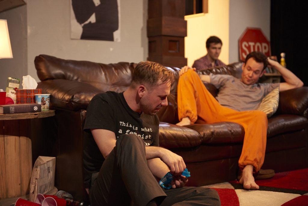 Shane Kenyon, Boyd Harris and Nicholas Bailey/Photo: Nathanael Filbert