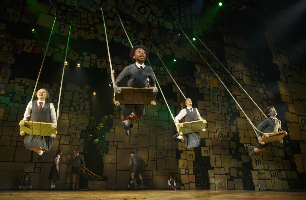 "The company of ""Matilda: The Musical.""/Photo: Joan Marcus"