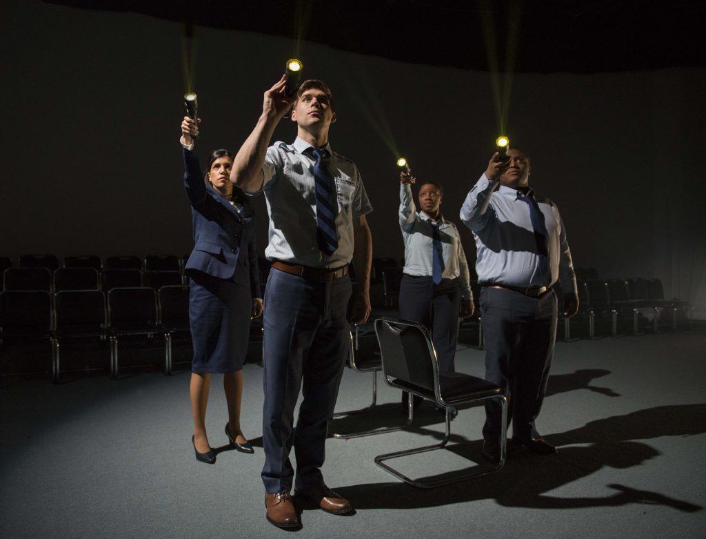 Alice da Cunha, James Doherty, Elana Elyce and Michael E Martin/Photo: Michael Brosilow