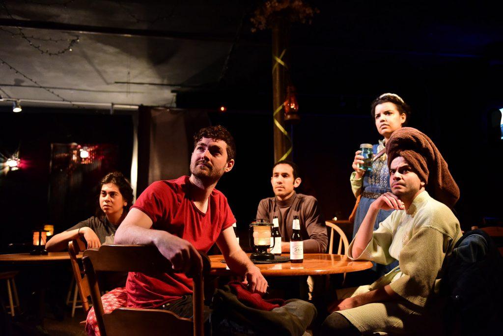Amanda Raquel Martinez, Patriac Coakley, Joe Lino, Morgan McNaught and Omer Abbas Salem/Photo: Evan Hanover