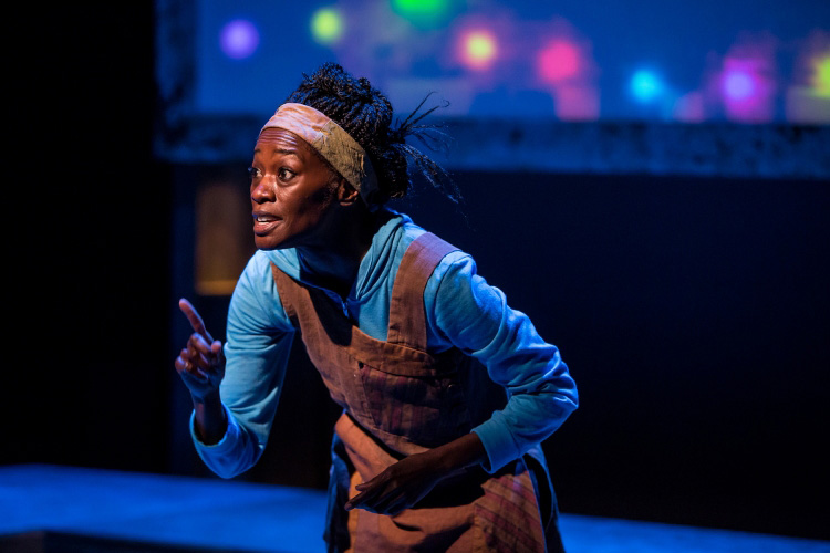"Sonja Parks in ""Seed Folks"" at Chicago Children's Theatre"