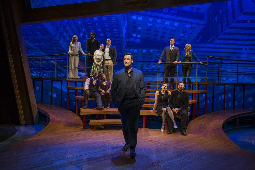 The Cast of Company/Photo: Michael Brosilow