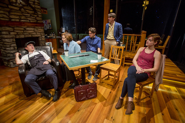 Andrew Jessop, Laura T. Fisher, Mike Tepeli, Charlie Strater and Abby Pierce/Photo: Charles Osgood