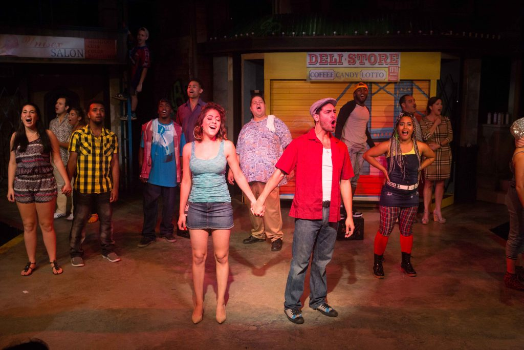 """The cast of """"In the Heights""""/Photo: Gretchen Kelley"""