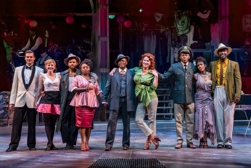 "The cast of ""Smokey Joe's Cafe.""/Photo: Brett Beiner"
