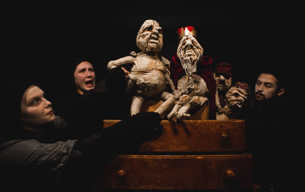 Charlotte Long, Sarah Stockdale, and David Gordezky/Photo: Joe Mazza at Brave Lux