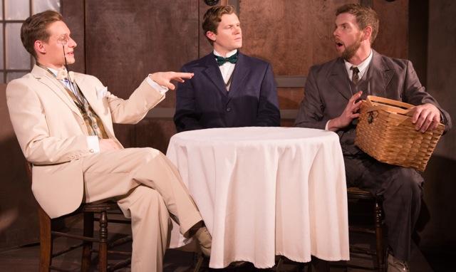 Richard Eisloeffel, Jay Hobson and John Blick/Photo: Tom McGrath