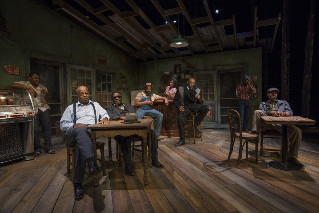 "The cast of ""East Texas Hot Links""/Photo: Michael Brosilow"