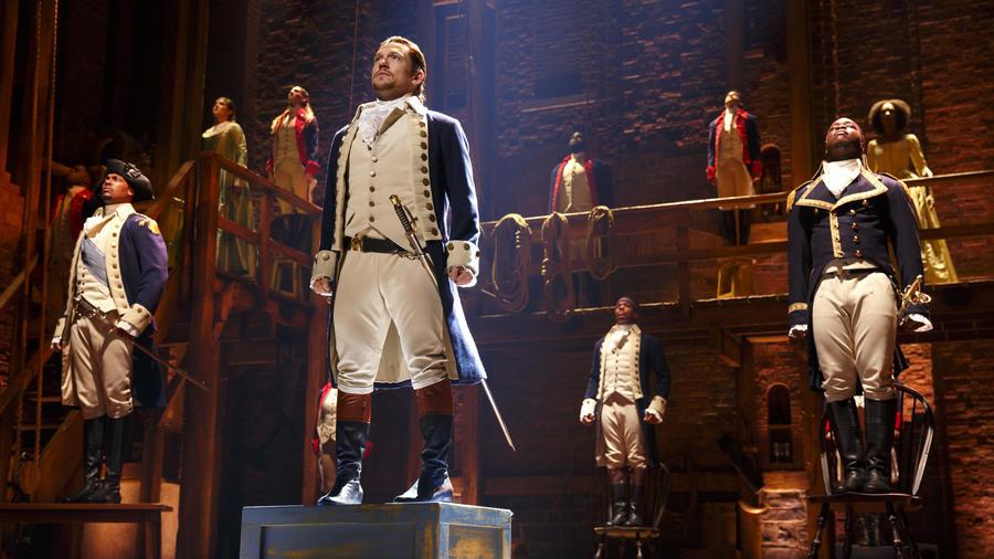 "The cast of ""Hamilton: An American Musical""/Photo: Joan Marcus"