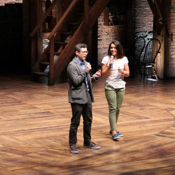 "Hamming For Hamilton: Chicago High School Students Invited to ""The Room Where It Happens"""