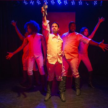 Hilariously Ham-y: A Review of Spamilton at The Royal George Theatre