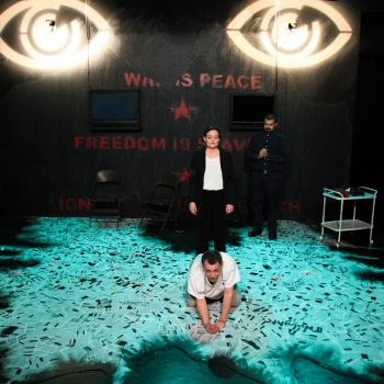 The Past Is The Present Is The Future: A Review of 1984 at AstonRep Theatre Company