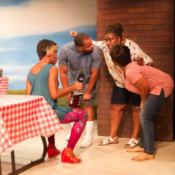 Fire and Smoke: A Review of Barbecue at Strawdog Theatre Company