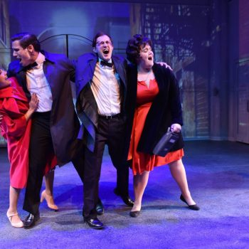 Roll Right Past: A Review of Merrily We Roll Along at Porchlight Theatre