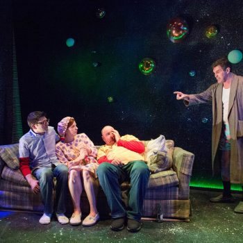 Terrestrial Ruckus: A Review of Cosmologies at The Gift Theatre