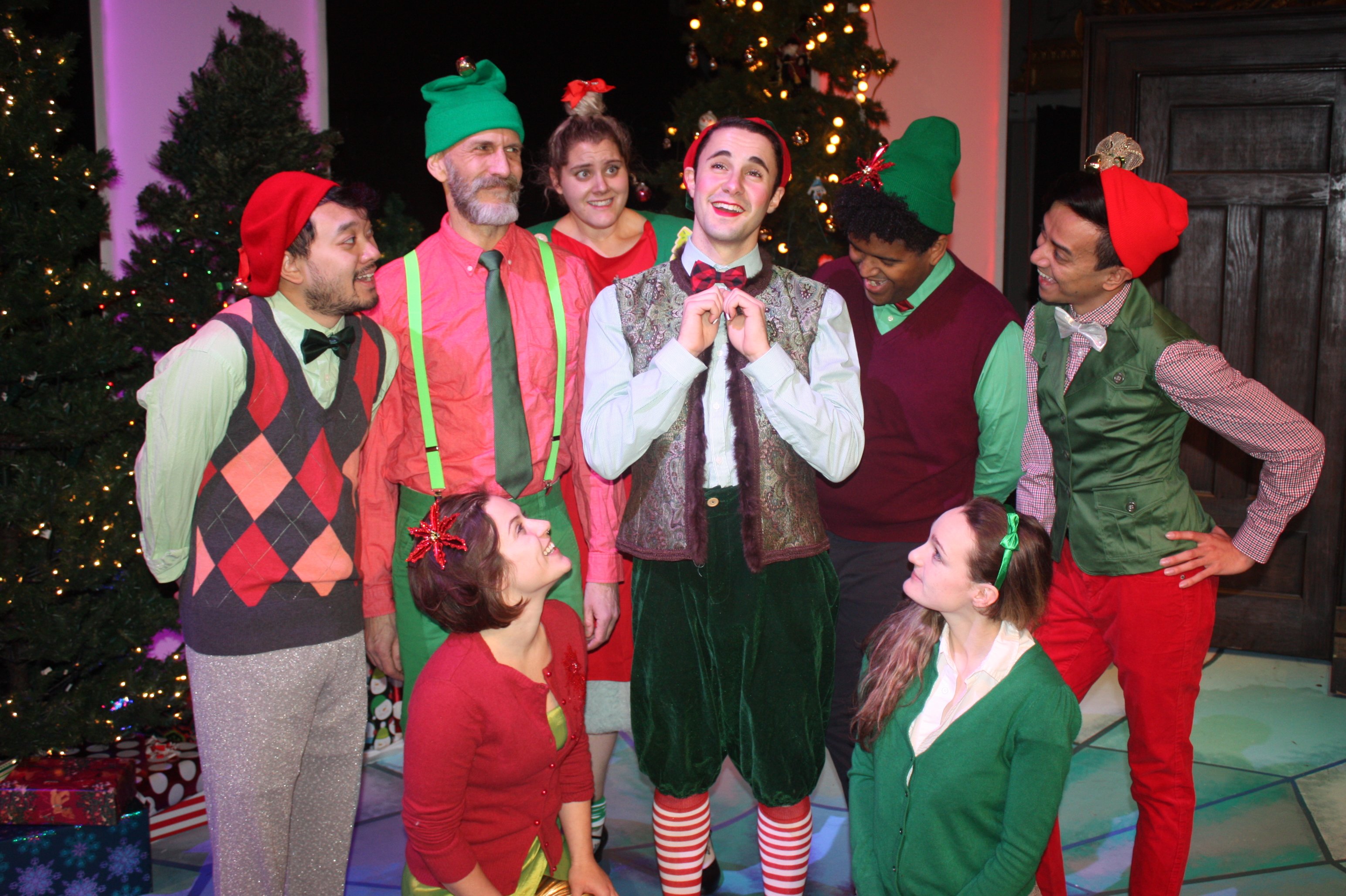 A Coming Out Christmas A Review Of Barney The Elf At Pride Films And Plays Newcity Stage