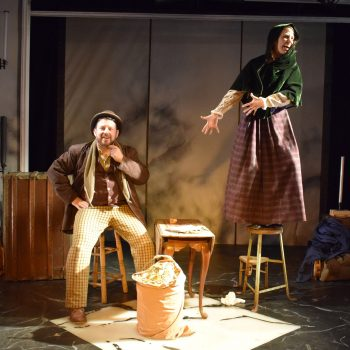 Challah Days: A Review of Hershel and the Hanukkah Goblins at Strawdog Theatre Company