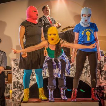 Pasta Wall: A Review of We Are Pussy Riot (or) Everything Is P.R. at Red Tape Theatre