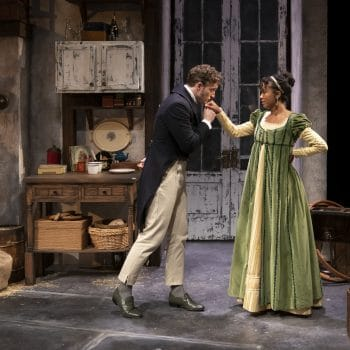 Merry Christmas, Mr. Darcy: A Review of The Wickhams: Christmas at Pemberley at Northlight Theatre
