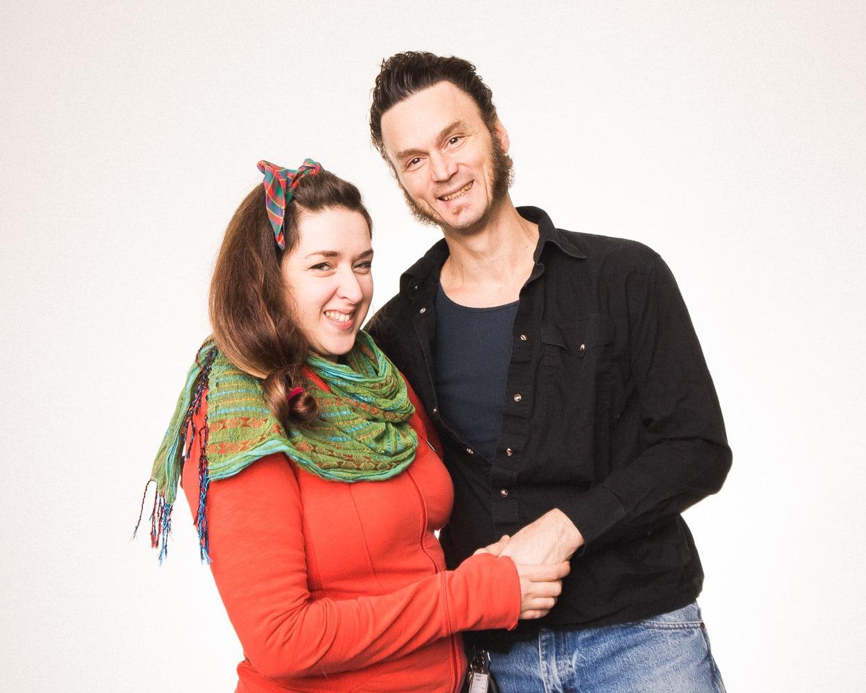 Julia Rae Antonick and Jonathan Meyer