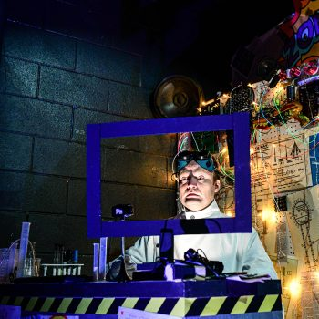 A Fan's Gotta Do: A Review of Dr. Horrible's Sing-Along Blog at Black Button Eyes Productions
